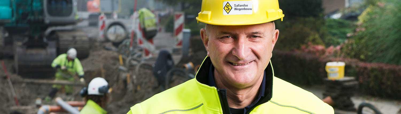 """""""Beleid maakt het lastig mensen met afstand tot de arbeidsmarkt een structurele oplossing te bieden"""" Wegenbouwer Johan Middelkamp"""